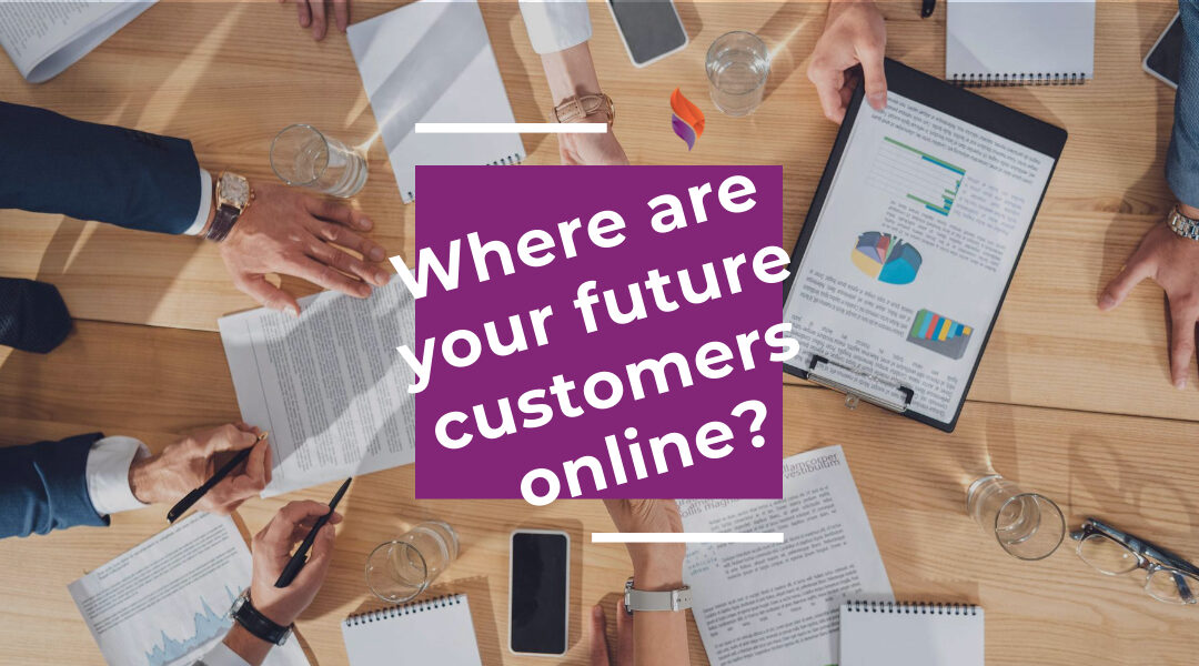 Where are your future customers online?